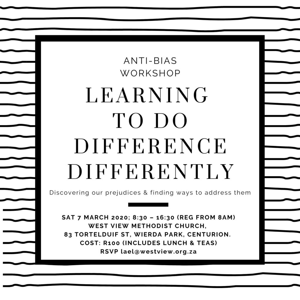 Anti-Bias Workshop Learning to Do Difference Differently